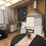 Chimenea Camping Kelenkeskes Ushuaia Tierra Del Fuego