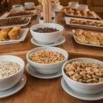 Completo Desayuno Nutritivo Hotel Los Naranjos Ushuaia Tierra Del Fuego