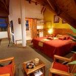 Dormitorio Cama Hotel Los Naranjos Ushuaia Tierra Del Fuego