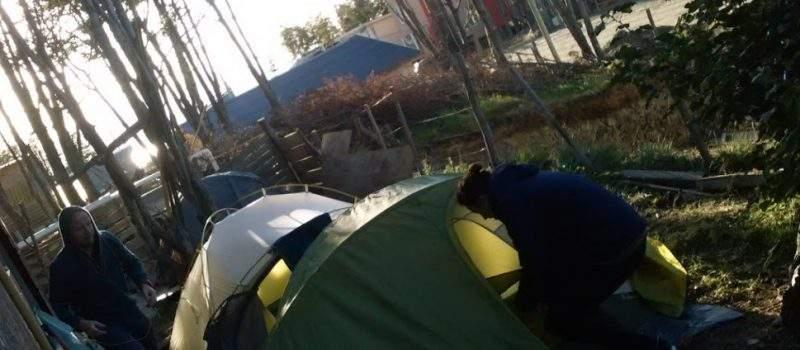 Camping Alakaluf's en Ushuaia Tierra del Fuego Argentina